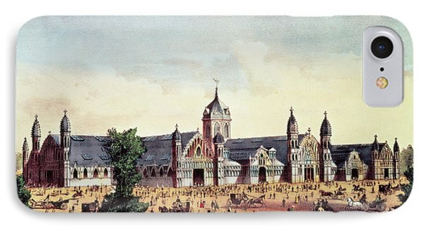 Agricultural Hall, Grand United States Centennial Exhibition, Fairmount Park, Philadelphia IPhone Case by American School