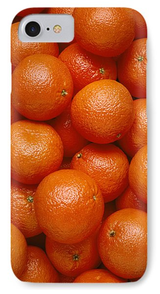 Agriculture - Field Of Tangerines Phone Case by Joel Glenn