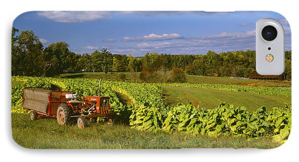 Agriculture - Fields Of Maturing Flue Phone Case by R. Hamilton Smith