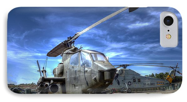 Ah-1 Cobra IPhone Case by Richard Stephen