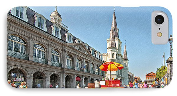 Ahh...new Orleans Sketch IPhone Case