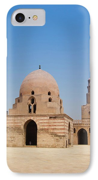Ahmed Ibn Tulun Mosque, Cairo, Egypt IPhone Case