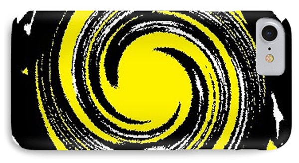 IPhone Case featuring the digital art Aimee Starry Night by Catherine Lott
