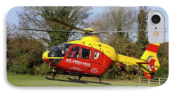 Air Ambulance Helicopter IPhone Case