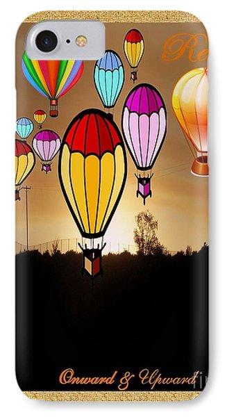 Air Balloons Reno Phone Case by Bobbee Rickard