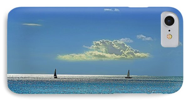 IPhone Case featuring the photograph Air Beautiful Beauty Blue Calm Cloud Cloudy Day by Paul Fearn