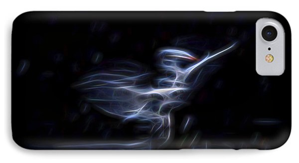 IPhone Case featuring the digital art Air Elemental 1 by William Horden
