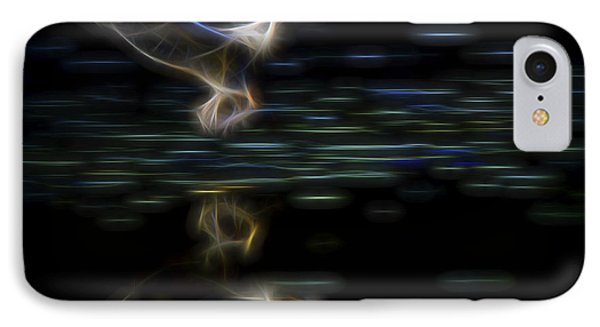IPhone Case featuring the digital art Air Elemental 2 by William Horden