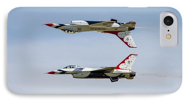 Air Force Thunderbirds IPhone Case by Bill Gallagher