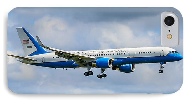 Air Force Two IPhone Case by Puget  Exposure