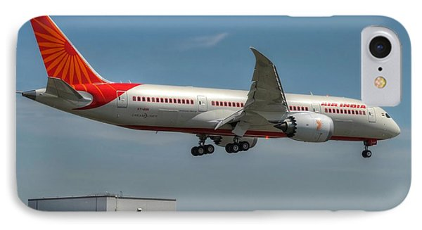 IPhone Case featuring the photograph Air India 787 by Jeff Cook