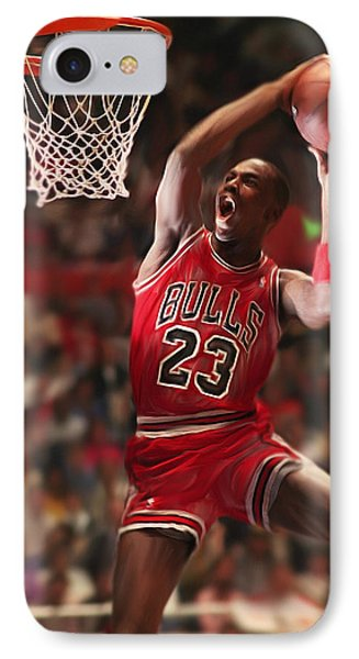 Air Jordan IPhone Case by Mark Spears