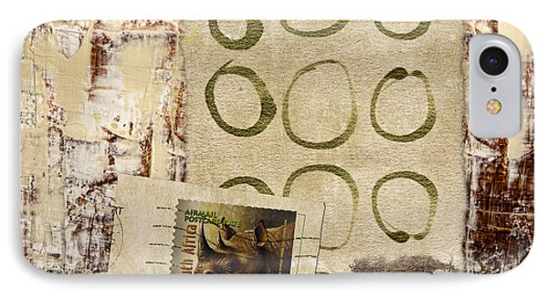 Air Mail South Africa IPhone Case by Carol Leigh