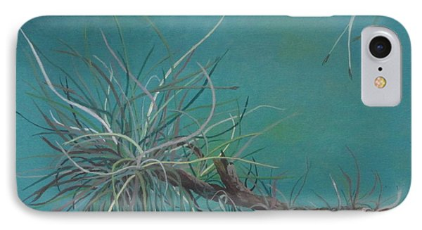 IPhone Case featuring the painting Air Plant Study by Hilda and Jose Garrancho
