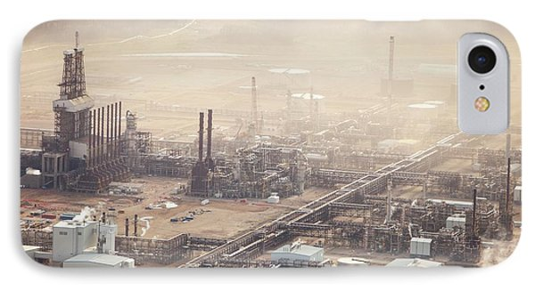 Air Pollution From Syncrude Tar Sands IPhone Case by Ashley Cooper