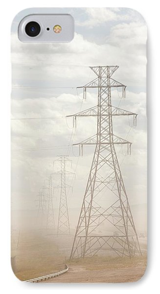 Air Pollution From Tar Sands Plant IPhone Case by Ashley Cooper
