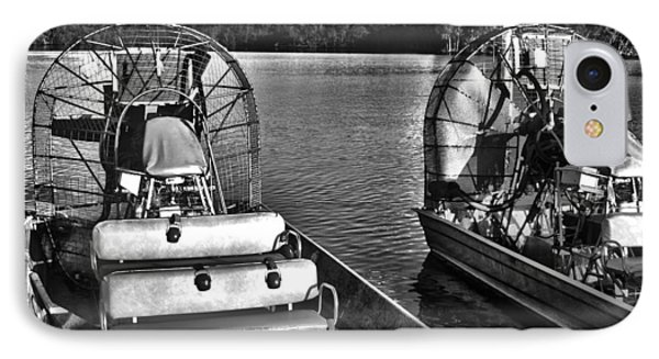 Airboats IPhone Case by Timothy Lowry