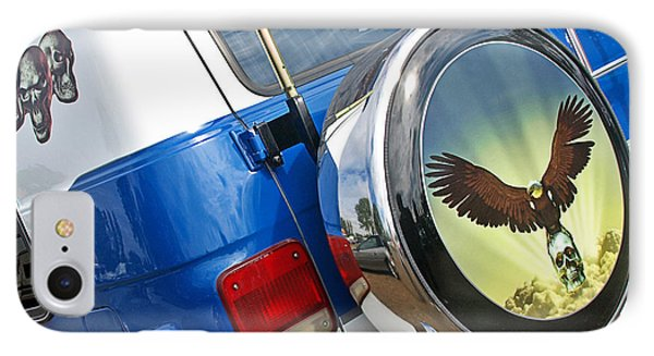 Airbrushed Chevy Truck IPhone Case by Gill Billington