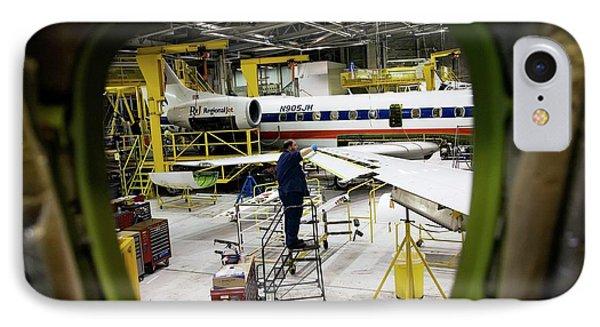 Aircraft Maintenance IPhone Case