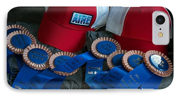 Aire Cap Prizes IPhone Case by Britt Runyon