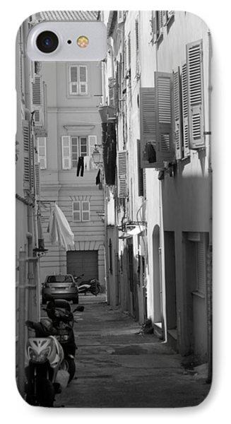 Ajaccio Back Alley IPhone Case