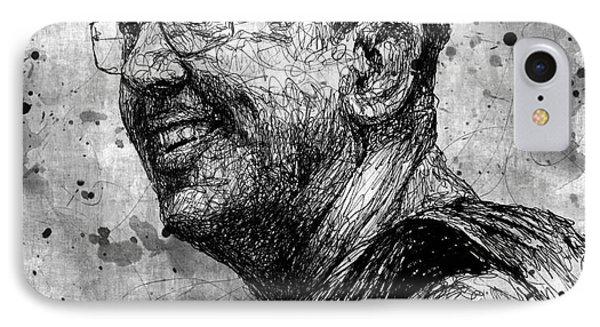 Ajahn Brahm IPhone Case by Michael Volpicelli