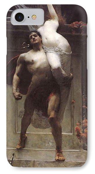 Ajax And Cassandra  IPhone Case by Solomon Joseph Solomon