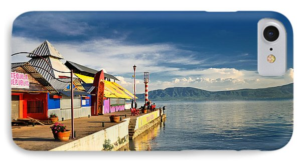 Ajijic Pier - Lake Chapala - Mexico IPhone Case