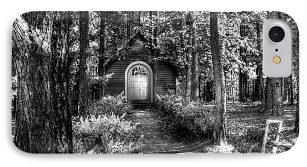 Ajsp Chapel Bw IPhone Case by Andy Lawless