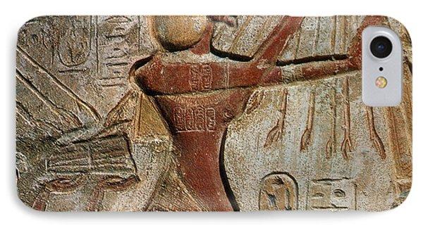 Akhenaten, New Kingdom Egyptian Pharaoh Phone Case by Science Source