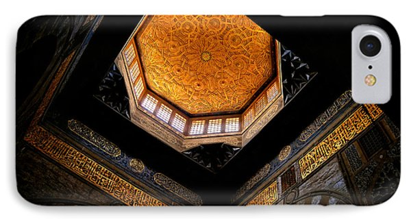 Al Ishaqi Mosque IPhone Case by Nigel Fletcher-Jones