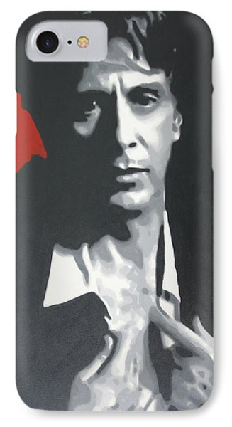 Al Pacino 2013 IPhone Case by Luis Ludzska