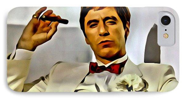 Al Pacino IPhone Case by Florian Rodarte