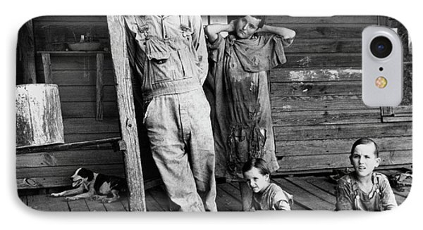 Alabama Family, 1936 IPhone Case by Granger