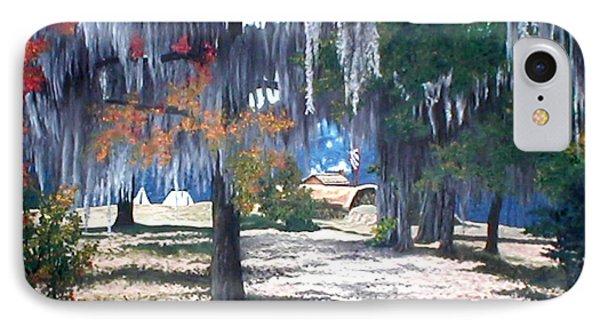 Alabama Fort Jackson Phone Case by Beth Parrish
