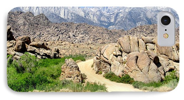 IPhone Case featuring the photograph Alabama Hills by Marilyn Diaz