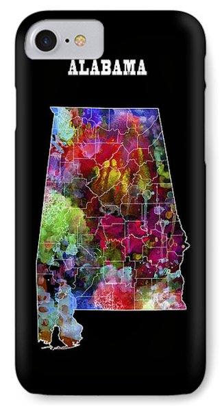 Alabama State IPhone Case by Daniel Hagerman