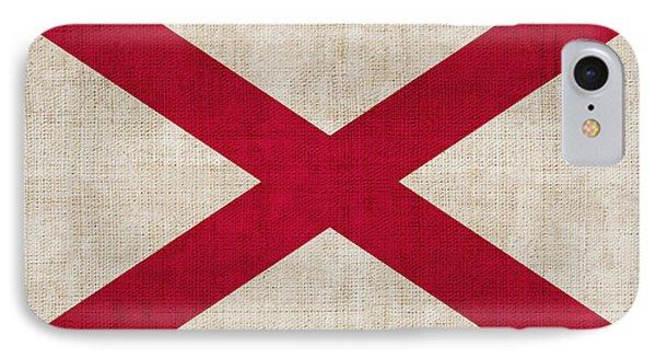Alabama State Flag Phone Case by Pixel Chimp