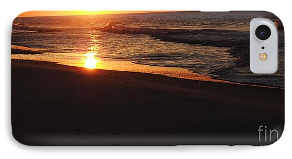 IPhone Case featuring the photograph Alabama Sunset At The Beach by Deborah DeLaBarre