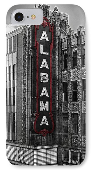 Alabama Theater IPhone Case by Fred Baird