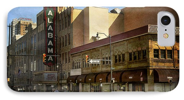 IPhone Case featuring the photograph Alabama Theatre by Davina Washington