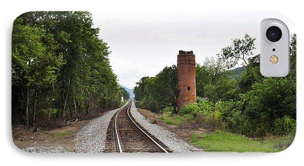 IPhone Case featuring the photograph Alabama Tracks by Verana Stark