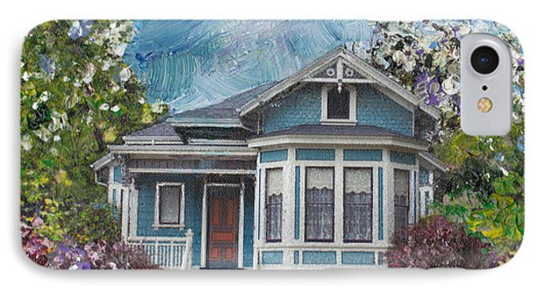 Alameda 1884 - Eastlake Cottage IPhone Case