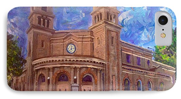 Alameda 1909  Twin Towers Church - Italian Renaissance  IPhone Case