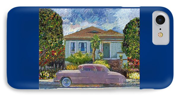 Alameda 1908 House 1950 Pink Dodge IPhone Case