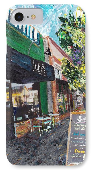 Alameda Julie's Coffee N Tea Garden IPhone Case