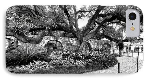 IPhone Case featuring the photograph Alamo Grounds by Ricardo J Ruiz de Porras