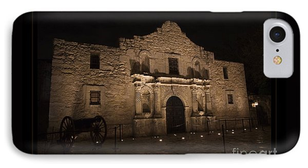 Alamo Mission In San Antonio IPhone Case by John Stephens