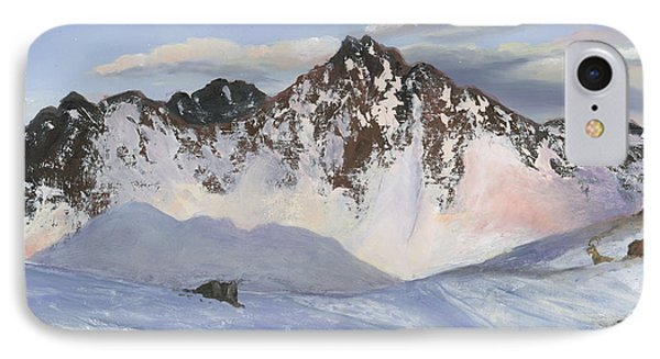 Alamoots Winter Mountains Phone Case by Cecilia Brendel
