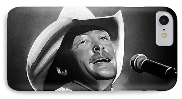 Alan Jackson IPhone Case
